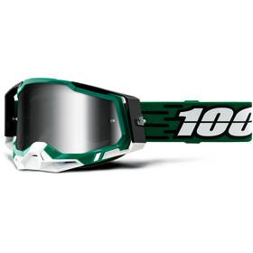 100% Racecraft Anti-Fog Goggles Gen2, Azul petróleo/negro